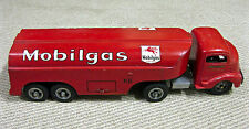 Smith-Miller vintage Mobilgas/oil tanker truck ~ 14-wheel tractor-trailer