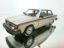 NEO MODELS VOLVO 242 GT - SILVER 1:43 - EXCELLENT CONDITION - 33/32