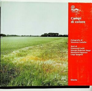 Vincenzo Castella Campi di colore Autografato Electa 2002 Fotografia Paesaggio