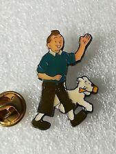 Pin's Pins Tintin et Milou bd Hergé comic strip corner 53