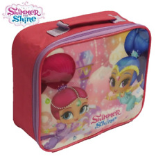 SHIMMER AND SHINE THERMAL INSULATED LUNCH BAG BOX KIDS PICNIC SCHOOL TRAVEL