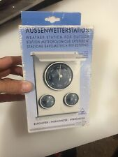 Aussenwetterstation Barigo Barometer Thermometer hygrometer - Made In Germany