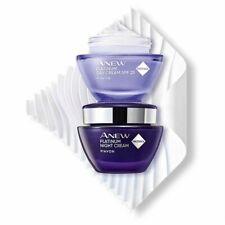 AVON Anew Platinum Replenishing Night Cream +Day Lifting Cream SET ! 1.7 oz each