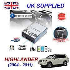 HIGHLANDER MP3 USB SD CD AUX Ingresso Adattatore Audio Digital CD Changer modulo