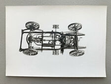 De Dion Bouton Chassis Car Frame Antique Photo Truck European French Auto Engine