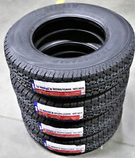 4 Tires Transeagle St Radial Ii Steel Belted St 205/75R15 Load D 8 Ply Trailer
