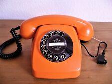 Original altes Post Telefon FeTAp 611-2,orange, wunderbarer Zustand.Top Funktion