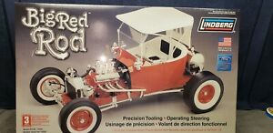 NEW Lindberg Big Red Rod Limited Edition 1/8 Scale Plastic Model  Sealed