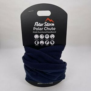 Peter Storm Polar Chute Multi Function Headband Adults One Size Navy Blue - New