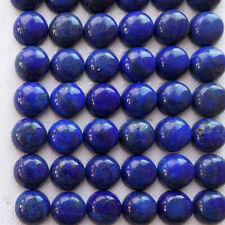 15Pcs Wholesale Lapis Lazuli Round 10x4mm CAB CABOCHON NN2075