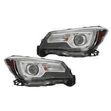 OEM 2017-2018 Forester Right and Left Head Light Lamp Set 84002SG262 84002SG272