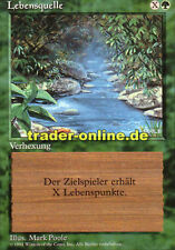 Lebensquelle (Stream of Life) Magic limited black bordered german beta fbb forei