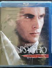 American Psycho - Uncut Version (Blu-ray Disc, 2007, Widescreen) Christian Bale