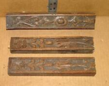 VTG Hand Carved Solid Oak Furniture Remnant Pieces Wood Accent Salvaged Parts