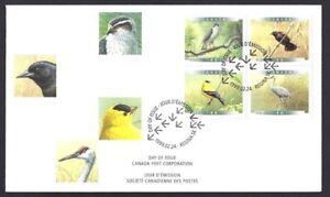Canada   # 1770 - 1773 Block a     BIRDS OF CANADA    New 1999 Unaddressed Cover