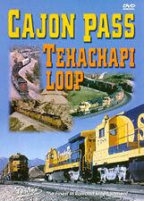 Cajon Pass Tehachapi Loop DVD Pentrex Southern Pacific Santa Fe SF SP cab rides