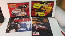 Nascar Scott Wimmer Dan Wheldon JJ Yeley Autographed 4 Piece Collector Pack Card