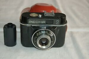 LOMO Vesna-2 Vintage Soviet Viewfinder Camera & Case. Serviced. 4042440. UK Sale