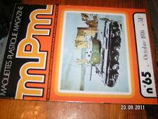MPM Maquettes Plastique n°65 T-6G Berlinette 1600
