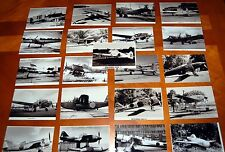 WWII LOT JAPANESE AIRCRAFT ZEROS,FIGHTERS LOT OF100 PHOTOS ACHI,ZEROS,BOMBERS