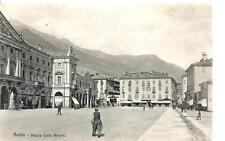AOSTA  -  Piazza Carlo Alberto