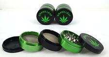 GRINDER 5 PART 60 MM ALUMINIUM HERB POLLINATOR CRYSTAL HERBS TOBACCO