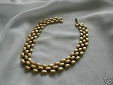 Goldtone Metal Necklace by P.E.P.