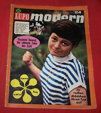 Lupo Modern Nr 24 , Pabel , 1966 , Z 2 mit Poster