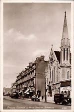 Bromley. Parish Church & High Street # 4322 in RA Series. Bus.