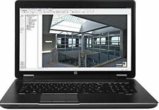 "HP ZBook 17 Laptop Intel Quad i7-4900MQ 2.80GHz 16GB 256GB SSD 17.3"" FULL HD"