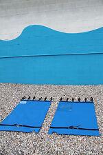 Hobie Tandem Island Kajak Trampolin Blau Netz pro Model W / Klammern und Splash