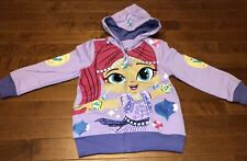Shimmer and Shine Girl's Jacket Hoodie Featuring Shimmer New Size 4