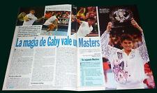 GABRIELA SABATINI Champion Master 1994 Tennis - Goles #1846 magazine Argentina