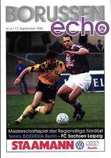 RL 1995/96 Tennis Borussia Berlin - FC Sachsen Leipzig, 17.09.1995