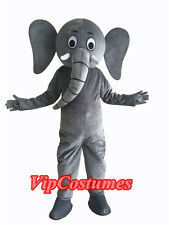 Adult Size Character Cartoon Elephant Mascot Costume Fancy Dress Party Clothing