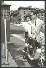 Innocenti Lambretta - riproduzione moderna su cartolina di fotografia d'epoca