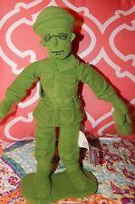 "Disney Toy Story Green Army Man Plush Doll 8"" Soldier Men Figure Stuffed Toy"