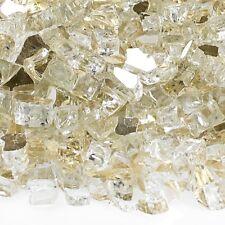 "Gold 1/4"" Reflective Fireglass - 10 lb bag"