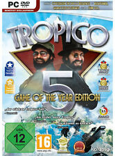 PC Game Tropico 5 Game of the Year Edition GOTY DVD Shipping dt. Verison New