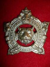 The Argyll & Sutherland Highlanders of Canada KC Cap Badge - Canada WW2, M131