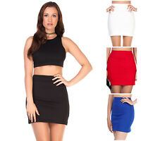 Women's Mini Skirt – Comes in Black, Red, White & Blue, in Size 8, 10, 12, 14