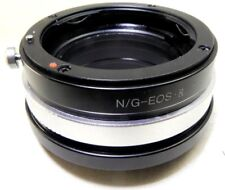 Nikon AF-S AI-S G F Lens mount adapter to Canon EOS R RF full frame Camera