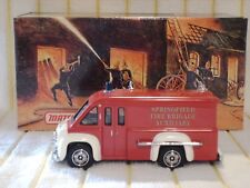 "Matchbox 1/43 YFE16 ""1948 Dodge Route Van Fire Fighting Support Truck/Red""boxed."