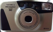 Yashica Microtec Zoom 90 35mm  Camera Bundled With Case~Free Shipping!
