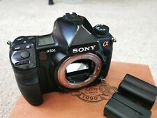 Sony Alpha A850 24.6MP Digital SLR Camera - Black (Body Only)