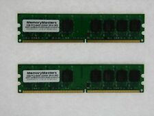 4GB 2x 2GB DDR2-800 MHz PC2-6400 Desktop Memory for eMachines EL1200-06w TESTED