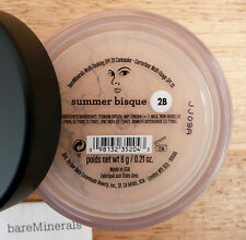 New 6g TRIPLE SIZE Bare Minerals SUMMER BISQUE CONCEALER 2B Light Medium SPF20
