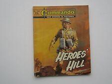 COMMANDO  COMICS  HEROES' HILL NUMBER 1388