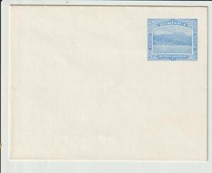 DOMINICA - 2½d BLUE STATIONERY ENVELOPE - UNUSED