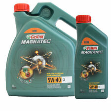 Castrol MAGNATEC 5W-40 5W40 C3 Fully Synthetic Engine Oil - 5 Litres (4L + 1L)